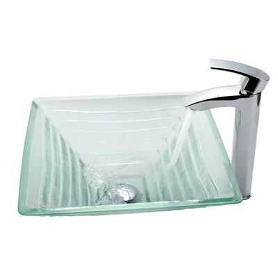 Alexandrite Square Vessel Bathroom Sink