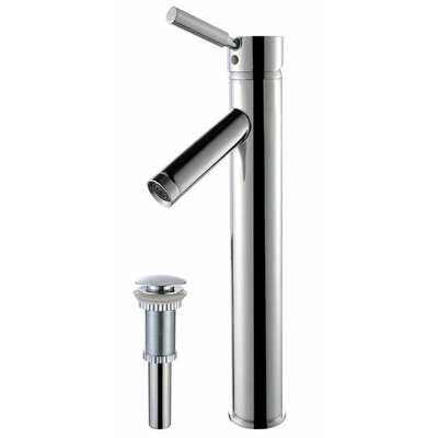 Sheven Single Hole Single Handle Bathroom Faucet with Drain Assembly Finish: Chrome