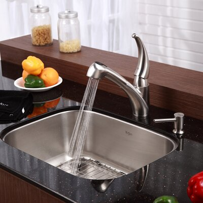Undermount Stainless Steel Xx  Hole Single Bowl Kitchen Sink