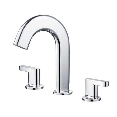 Ino Widespread Double Handle Bathroom Faucet Finish: Chrome