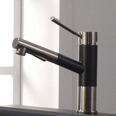 Geo Axis Single Handle Pull Down Kitchen Faucet
