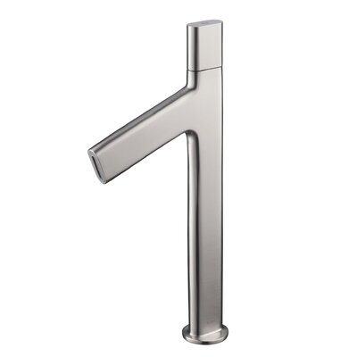 Ino� Single Hole Single Handle Bathroom Faucet Finish: Brushed Nickel