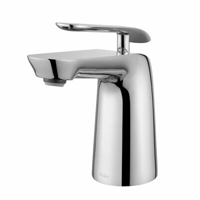 Seda Single Hole Single Handle Bathroom Faucet Finish: Chrome