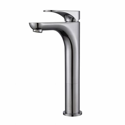 Aquila Single Hole Single Handle Bathroom Faucet Finish: Chrome