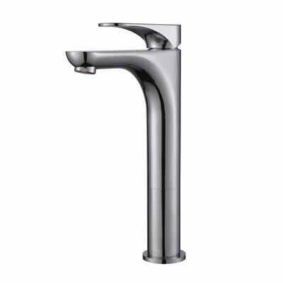 Aquila Single Hole Single Handle Bathroom Faucet Finish: Chrome