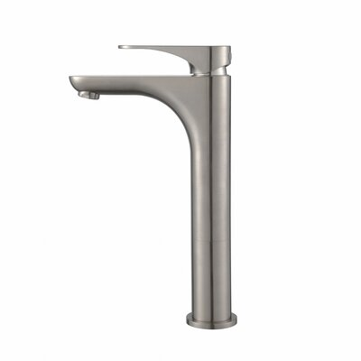 Aquila Single Hole Single Handle Bathroom Faucet Finish: Brushed Nickel