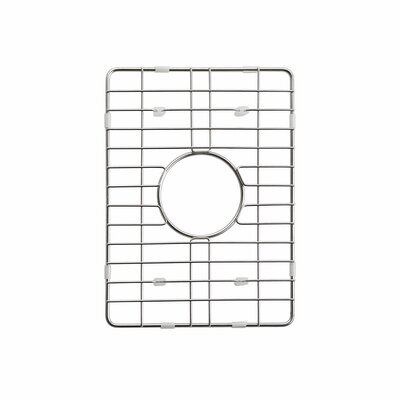 Stainless Steel Sink Grid Size: 14 x 11