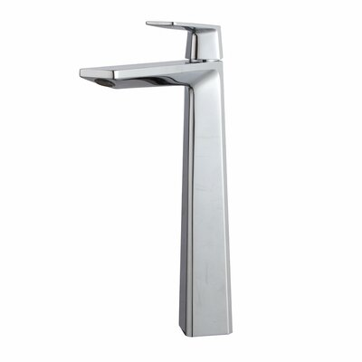 Exquisite Vessel Single Hole Single Handle Bathroom Faucet Finish: Chrome