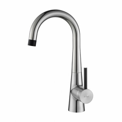 Crespo Single Handle Kitchen Bar Faucet Finish: Stainless Steel