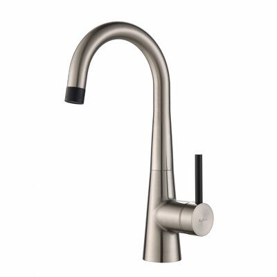 Crespo� Single Handle Kitchen Bar Faucet Finish: Stainless Steel