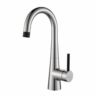 Crespo� Single Handle Kitchen Bar Faucet Finish: Chrome