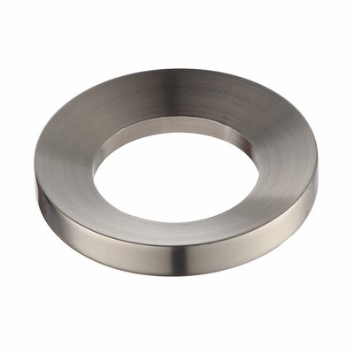 Exquisite Mounting Ring Finish: Satin Nickel