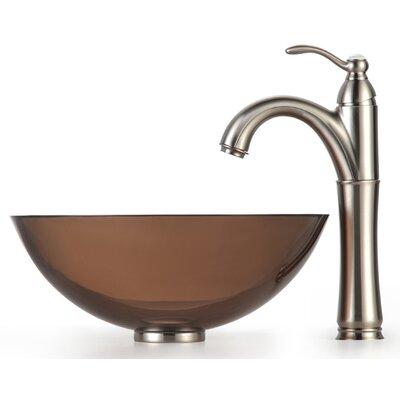 Circular Vessel Bathroom Sink Mounting Ring Finish: Satin Nickel