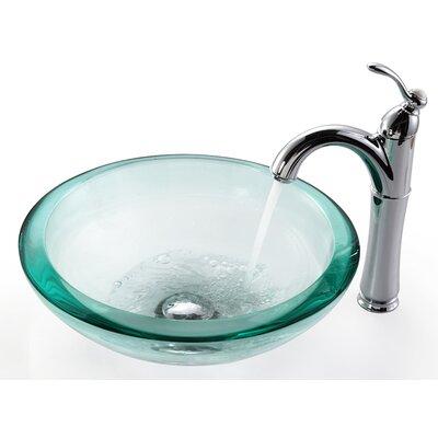 Circular Vessel Bathroom Sink Mounting Ring Finish: Chrome