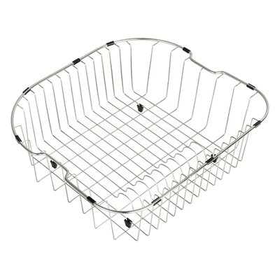 Chrome Kitchen Basket | Wayfair