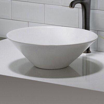 Elavo Circular Vessel Bathroom Sink