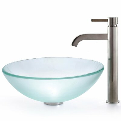 Ramus Single-Handle Vessel Sink Bathroom Faucet Finish: Chrome
