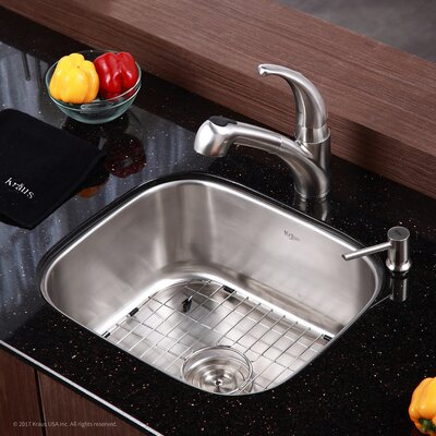 21 x 18 Undermount Kitchen Sink