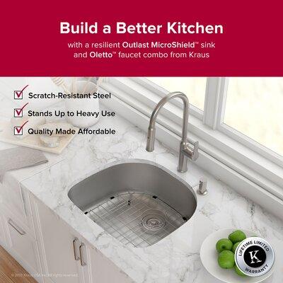 Outlast MicroShield� 23.38 x 21 Undermount Kitchen Sink