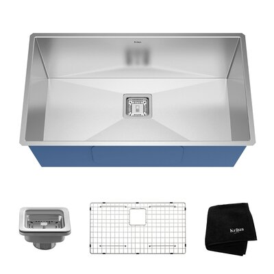 Pax� 31 x 18 Undermount Kitchen Sink with Drain Assembly