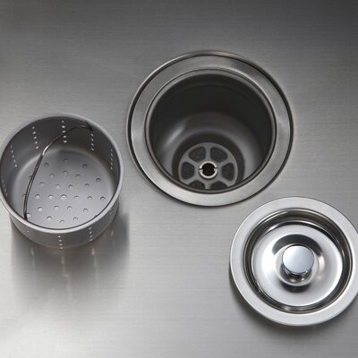 Kitchen Combos 19 x 20 Undermount Kitchen Sink with NoiseDefend� Soundproofing