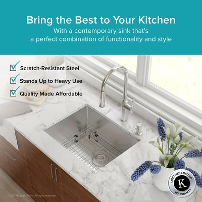 23 x 18 Undermount Kitchen Sink