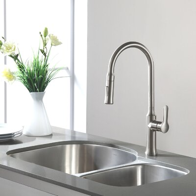 Stainless Steel 31.5 x 20 Double Basin Undermount Kitchen Sink with NoiseDefend Soundproofing