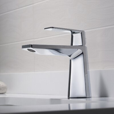 Exquisite Single Handle Basin Faucet Finish: Chrome