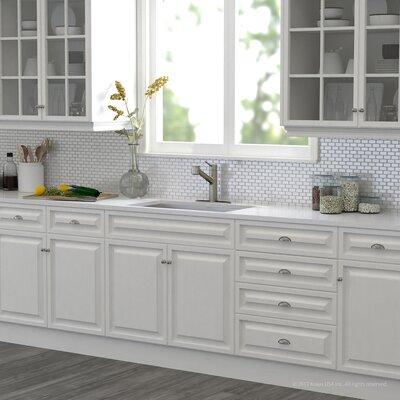 Pax� Zero-Radius 16 Gauge Stainless Steel 31.5 x 18.5 Undermount Kitchen Sink with Faucet Finish: Stainless Steel