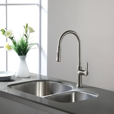29.38 x 19.5 Double Basin Undermount Kitchen Sink