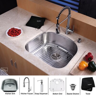 Undermount Kitchen Sink with 20