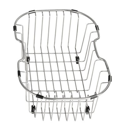 Stainless Steel Kitchen Basket | Wayfair