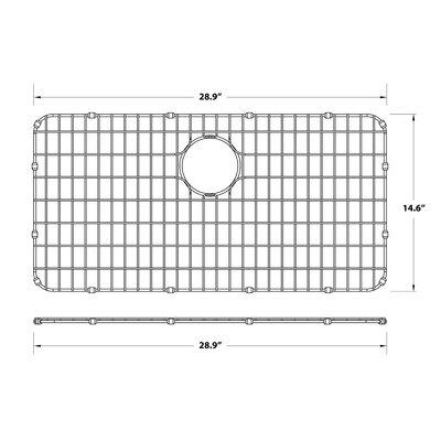 Dex� Series 14 x 29 Sink Grid