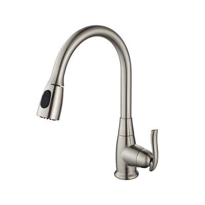 32.75 x 19 Undermount Kitchen Sink with Faucet Finish: Satin Nickel