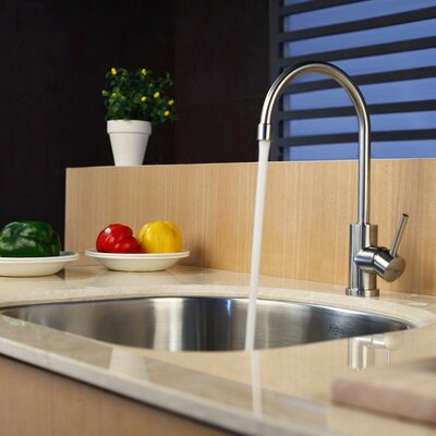 Stainless Steel 23.25 x 20.9 Undermount Kitchen Sink with Faucet and Soap Dispenser