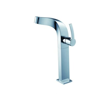 Typhon Single Hole Single Handle Bathroom Faucet with Drain Assembly Optional Accessory: Without Pop Up Drain