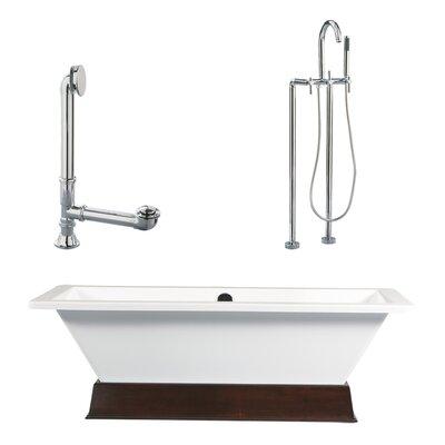 Tella Contemporary Soaking Bathtub