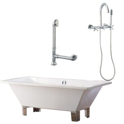 Tella Contemporary Soaking Bathtub