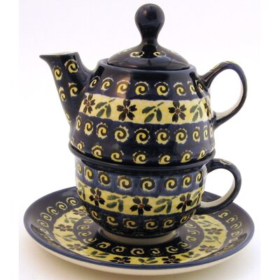 10 oz Tea for One Teapot & Saucer - Pattern 175A