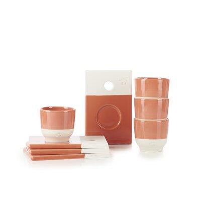 Revol Color Lab Saucer and Espresso Cup Set SET08CL002