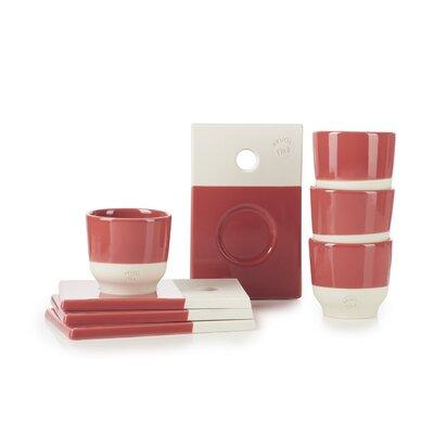Revol Color Lab 4 Piece Saucer and Espresso Cup Set SET08CL002