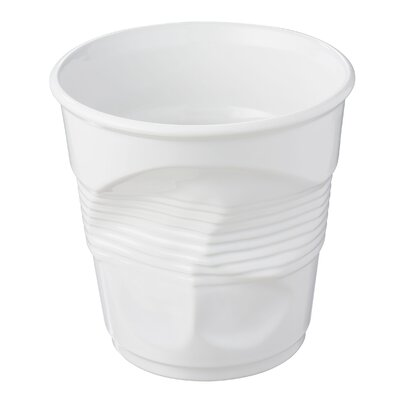 Froisses Crumple Champagne Bucket Finish: Satin White 642551