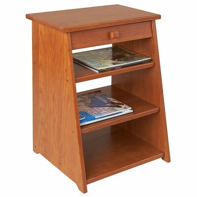 Periodical End Table Finish: Golden Oak