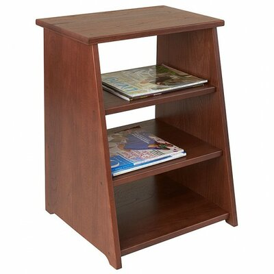 Periodical End Table Finish: Chestnut
