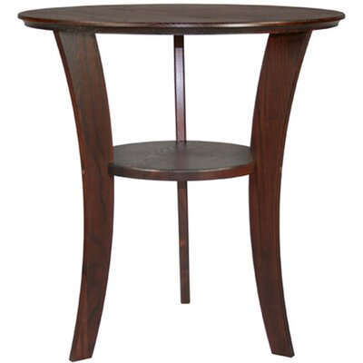 Cheap Manchester Wood Contemporary Round End Table in Chestnut (MWO1010)