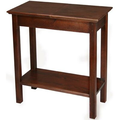 Manchester Wood Chairside Storage Table in Chestnut (MWO1022)