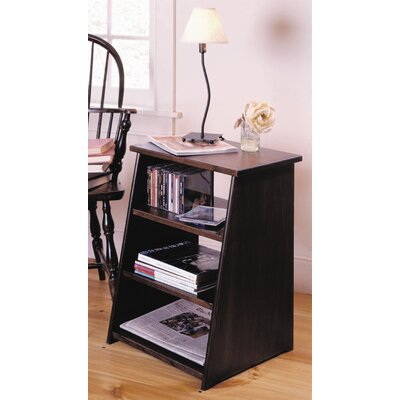 Cheap Manchester Wood Periodical End Table/Magazine Rack in Chestnut (MWO1035)