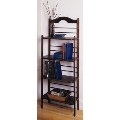 Lease to own Baker's Rack Finish: Chestnut...