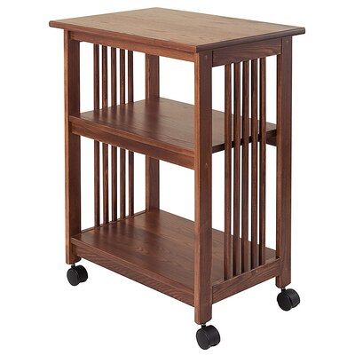 Mission Microwave Cart Base Finish: Chestnut
