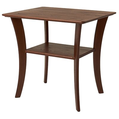 Contemporary End Table Finish: Chestnut